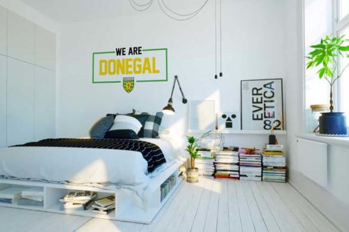 Donegal  Wall Vinyl We Are Donegal design