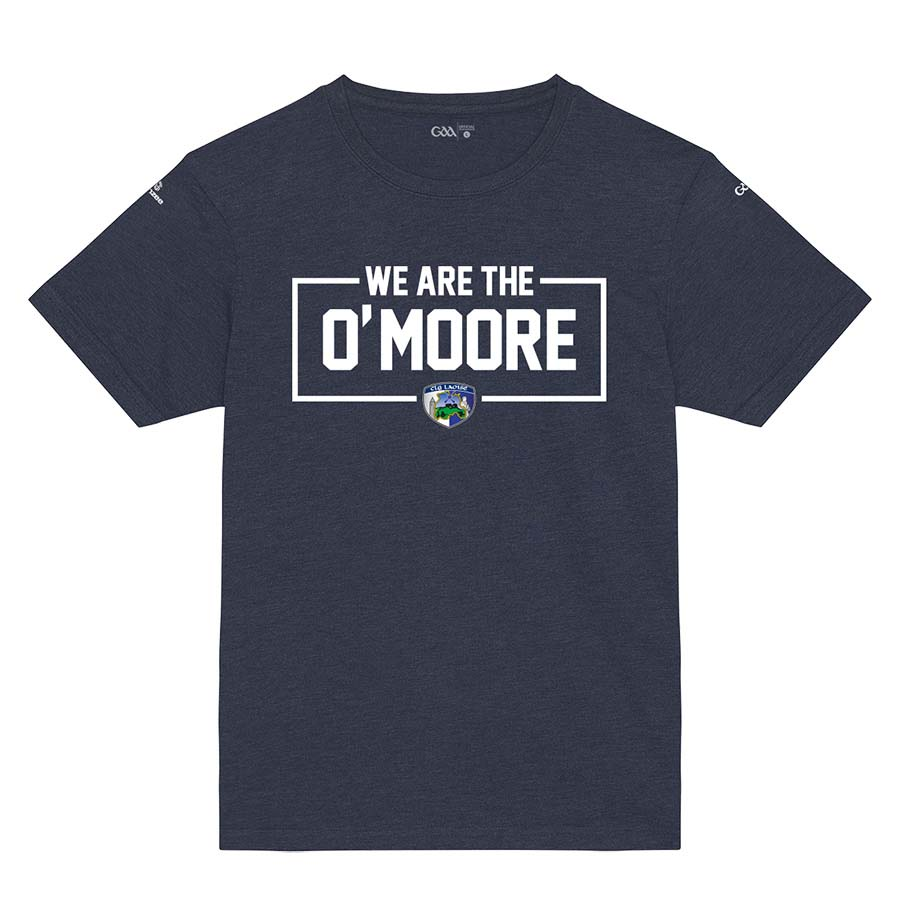 Laois Kids French Navy T-Shirt WeAre The O'Moore Design