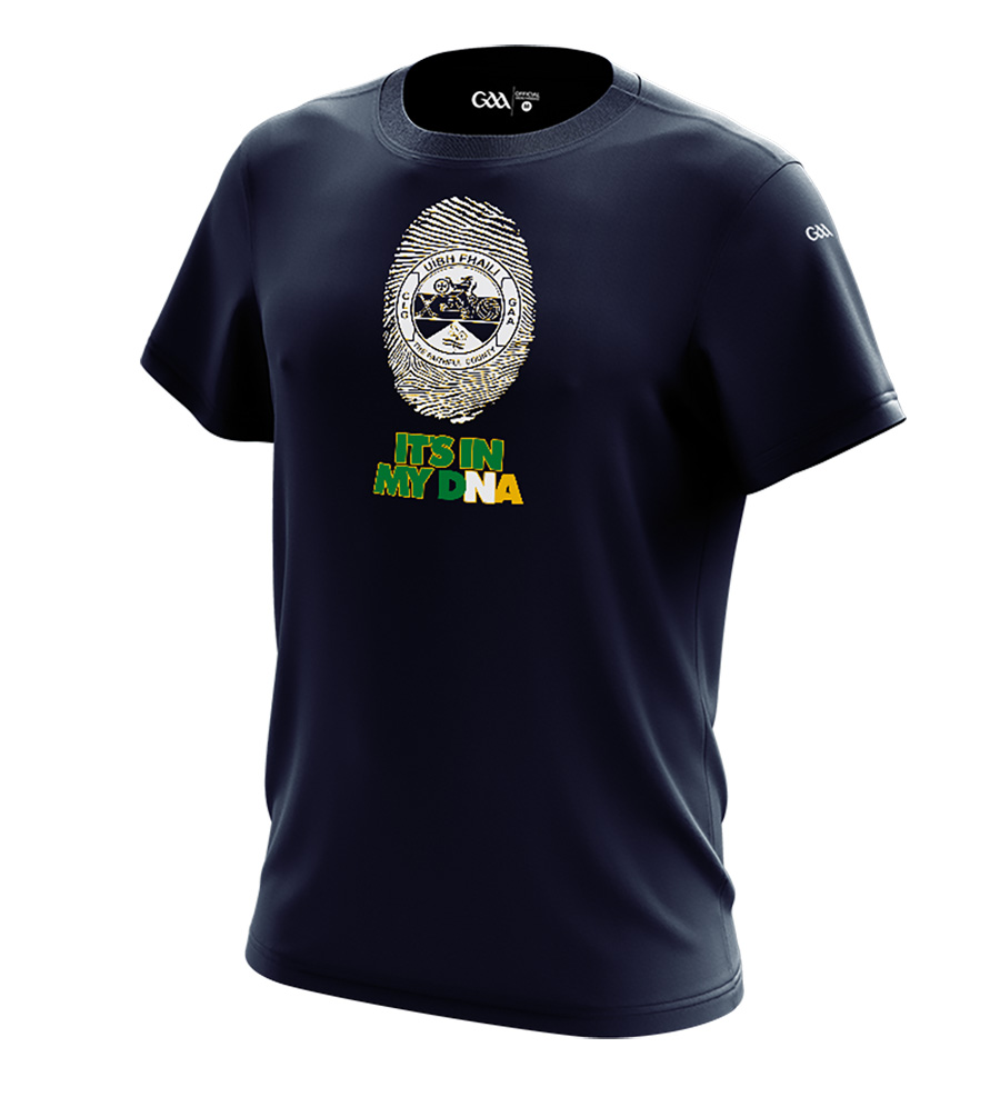 Offaly Mens French Navy T-Shirt DNA design