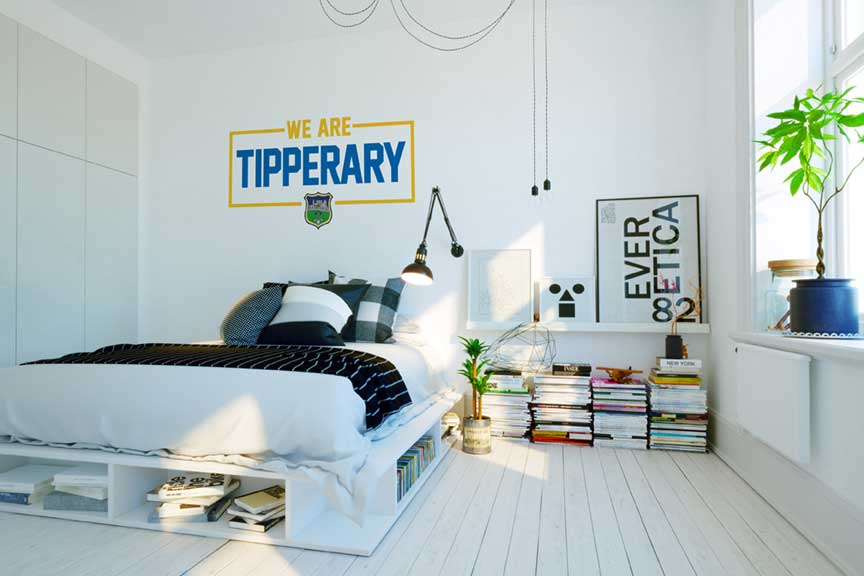 Tipperary  Wall Vinyl We Are?Tipp  design