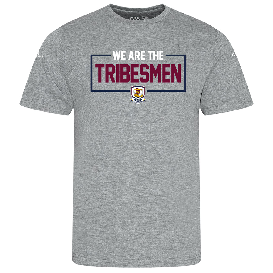 Galway Mens Heather Grey T-Shirt We Are design