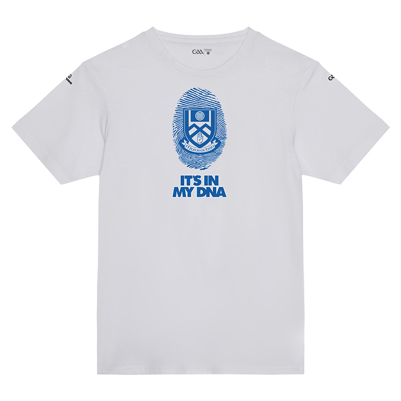 Monaghan Kids Solid White T-Shirt DNA design