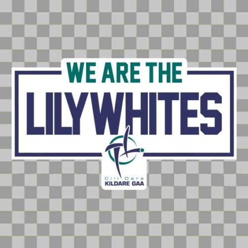 Kildare Wall Vinyl We Are The Lillywhites design